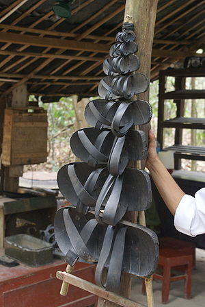 Sandals made from old truck tires