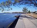Sandgate foreshore near the swimming pool, looking towards the old Baptist Church. Near Brisbane, Australia - panoramio.jpg