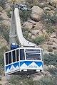 Sandia Peak Tramway car, Albuquerque.JPG