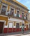 Sangre de Cristo, Guanajuato Capital, Guanajuato - Casa y bandera.jpg