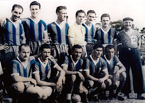 Club Atlético San Telmo - The 1949 squad that won the first title for the club although it was not promoted to Primera.