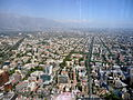Santiago de Chile from Gran torre Santiago, south-east.JPG