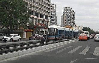 Sanya - Image: Sanya tramway