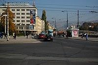 Sarajevo Tram-Stop Skenderija 2011-10-31 (2).jpg