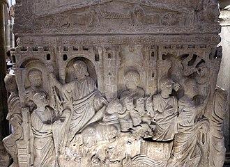 Sarcophagus of Stilicho - Image: Sarcofago detto di stilicone, IV secolo, 08