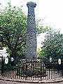 Saxon Cross , St. Peter's Churchyard , Wolverhampton - geograph.org.uk - 538293.jpg
