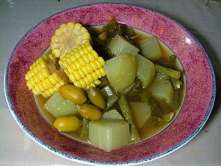 Sayur asem Indonesian vegetable
