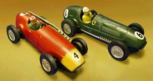 Tin toy - Tin cars circa 1957