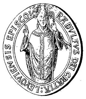Ralph de Warneville English politician; Bishop of Lisieux