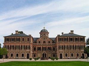 Schloss Favorite (Rastatt) - Schloss Favorite, front view