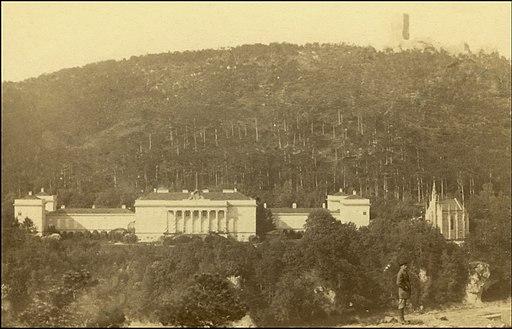 Schloss Weilburg bei Baden 1888.