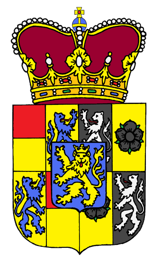 Fürst - Image: Schwarzburg Solms Wildenfels Coat of arms 1