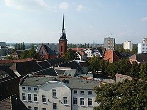Schwedt - Old town