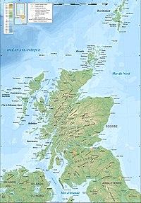 mapa da escocia Geografia da Escócia – Wikipédia, a enciclopédia livre mapa da escocia