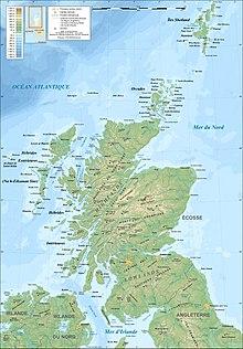 Cartina Fisica Regno Unito In Italiano.Scozia Wikipedia