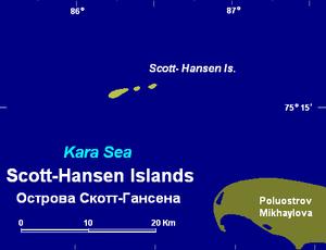 Scott Hansen Islands - Image: Scott gansen