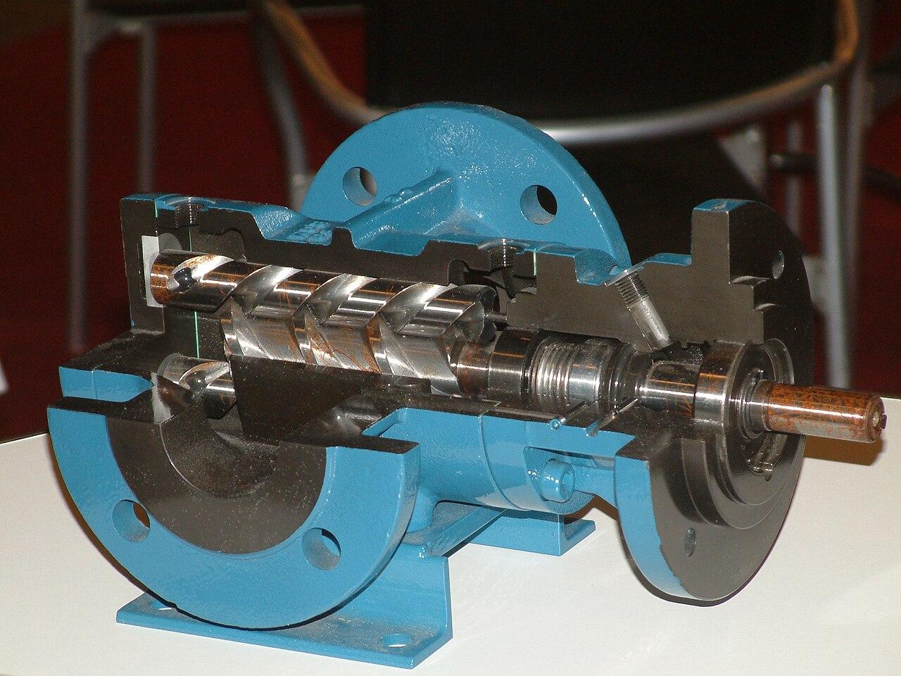 file screw pump  make kral cut