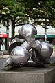 Sculpture Anemokinetisches Objekt III Hein Sinken Osterstrasse Hanover Germany 03.jpg