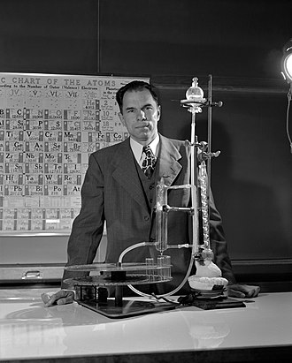 Glenn T. Seaborg - Seaborg in his lab