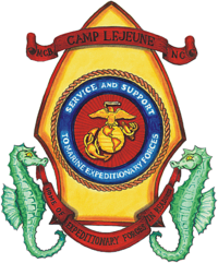 Seal of MCB Camp Lejeune