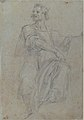 Seated Crowned Male Figure Holding a Book or Scroll (recto); Seated Nude Boy (verso) MET 1971.63.2 RECTO.jpg