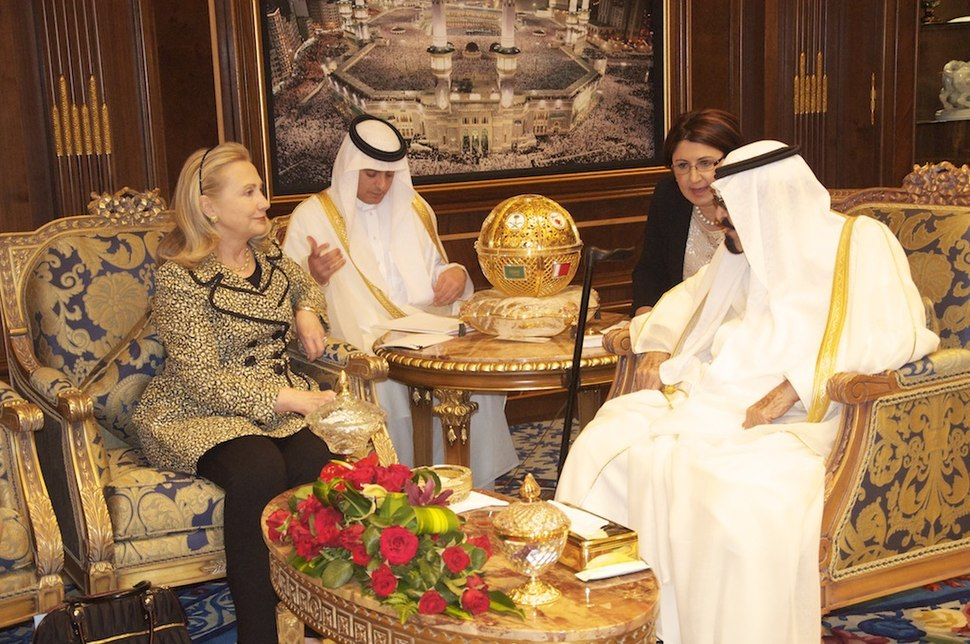 Secretary Clinton Meets With King Abdullah