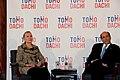 Secretary Clinton and Ambassador Roos at the Tomodachi Event (7527680358).jpg