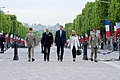 Secretary Kerry, French Foreign Minister Fabius, Ambassador Hartley Approach Arc d'Triomphe For 70th Anniversary VE Day Wreath-Laying in Paris (17419686672).jpg