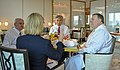Secretary Pompeo's Working Breakfast With Senior Advisors in Singapore (42726146561).jpg