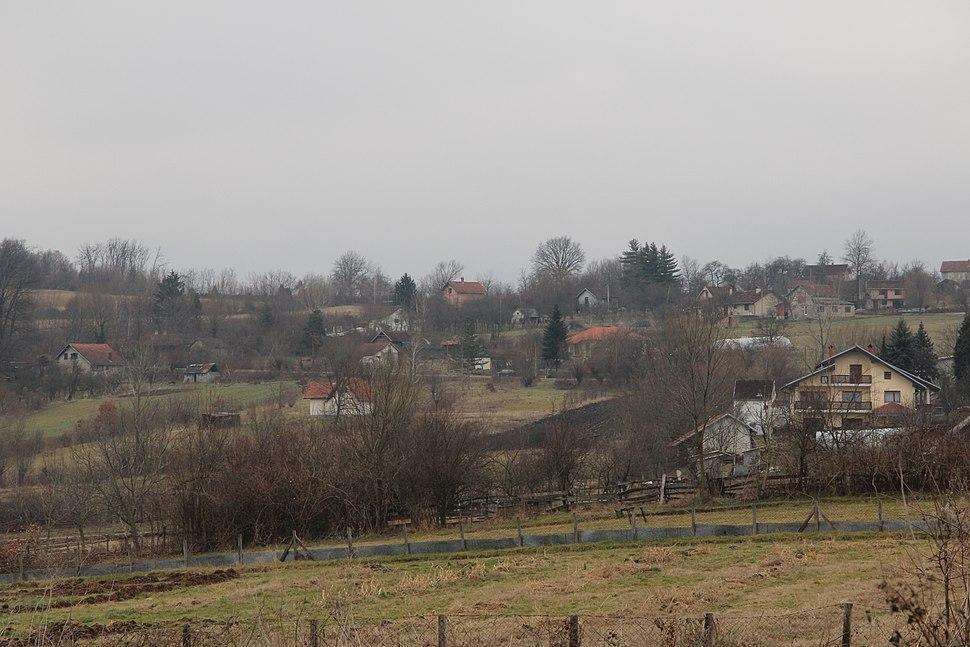 Selo Klinci - opština Valjevo - zapadna Srbija - Panorama 8 - Pogled prema istoku