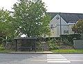 Senior center bus stop outside cville (4904754331).jpg