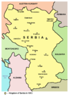 Kingdom of Serbia in 1913