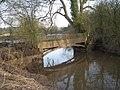 Severn Way footbridge at a confluence - geograph.org.uk - 682349.jpg