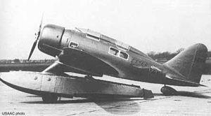 Seversky SEV-3 - Image: Seversky SEV 3XAR at Wright Field in 1934