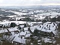 Shaftesbury, a snowy roofscape - geograph.org.uk - 1153122.jpg