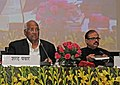 Sharad Pawar addressing the 84th Annual General Meeting of ICAR, in New Delhi on February 18, 2013. The Minister of State for Agriculture & Food Processing Industries, Shri Tariq Anwar is also seen.jpg