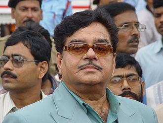 Patna Sahib (Lok Sabha constituency) - Shatrughan Sinha, is the current Member of Parliament from Patna