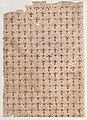 Sheet with overall pattern of arrow shapes and dots Met DP886787.jpg