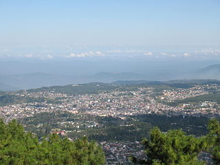 Shillong City and state capital of Meghalaya, India