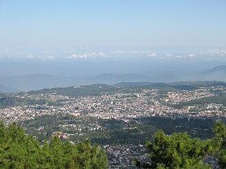 Shillong - A view of Shillong