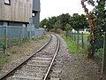 Shoeburyness, Branch line railway to MOD Pig's Bay - geograph.org.uk - 924400.jpg