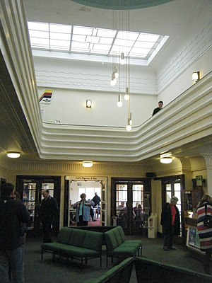 Brighton City Airport - Interior of the terminal building