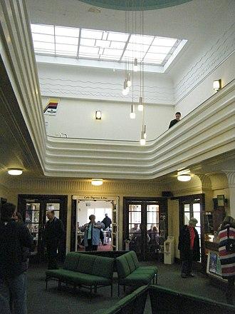 Brighton City Airport - Interior of the terminal building