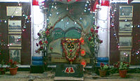 Shrine, Kalighat Metro Station.jpg