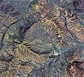 Shunak crater (Kazakhstan), Sentinel-2 satellite image 2018-SEP-14.jpg