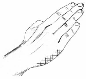 Knifehand strike - Image: Shuto