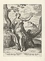 Sibille van Cumae Sibylla Cumaea (titel op object) Sibillen (serietitel), RP-P-1951-340B.jpg