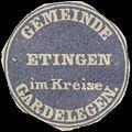 Siegelmarke Gemeinde Etingen W0343130.jpg