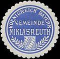 Siegelmarke Gemeinde Niklasreuth K. Bayern W0352333.jpg