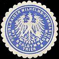 Siegelmarke Königl. Kaiser Wilhelms-Gymnasium mit Realgymnasium Trier W0313889.jpg